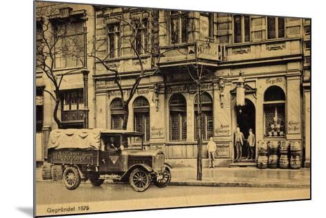 Berlin, Krausenstr 64, Bierhaus Zum Klaussner, Lkw--Mounted Giclee Print