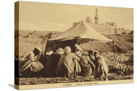 Cairo - Native Fortune Teller--Stretched Canvas Print