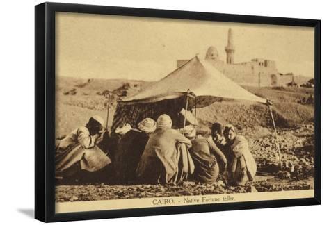 Cairo - Native Fortune Teller--Framed Art Print