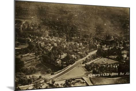 Hampstead from the Air--Mounted Photographic Print