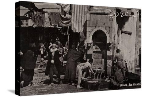 Rue Zarablie, Damascus, Syria--Stretched Canvas Print