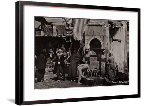 Rue Zarablie, Damascus, Syria--Framed Art Print