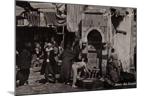 Rue Zarablie, Damascus, Syria--Mounted Photographic Print