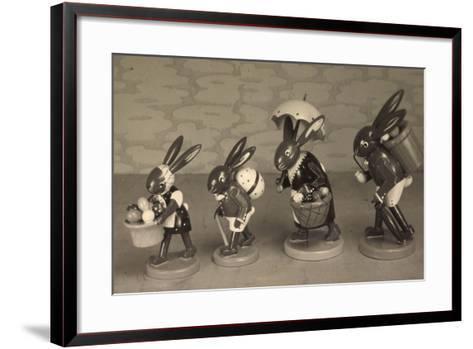 Easter Greetings Card--Framed Art Print