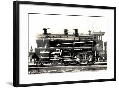 Locomotive Francaise, P.O. Midi, Machine No 4203--Framed Art Print