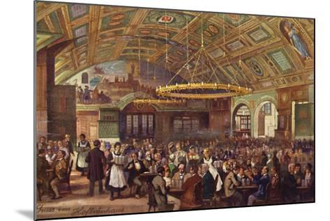Hofbrauhaus, Munich--Mounted Giclee Print