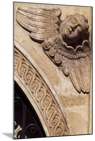 Detail of the Ornamentation from the Facade of the Church of St Mary, Krakow--Mounted Giclee Print
