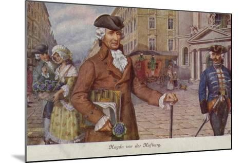 Portrait of Joseph Haydn--Mounted Giclee Print