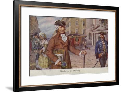 Portrait of Joseph Haydn--Framed Art Print