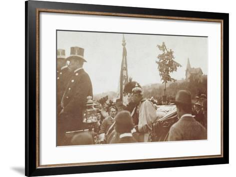 Foto Baden Baden, Pferdekutsche, Friedrich II--Framed Art Print