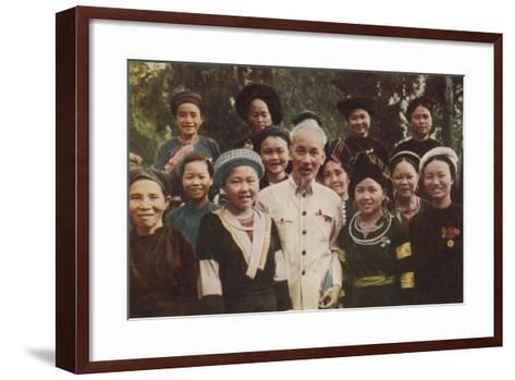Ho Chi Minh--Framed Art Print