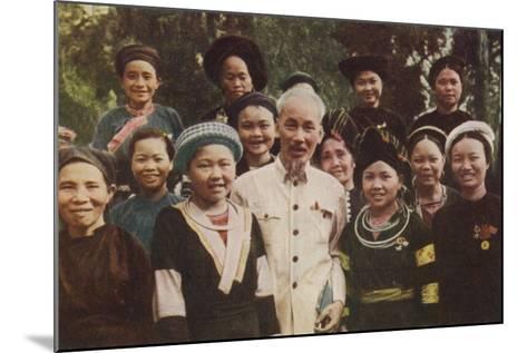 Ho Chi Minh--Mounted Photographic Print