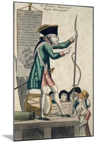 Caricature of the Well-Known Anglo-American Experimenter--Mounted Giclee Print