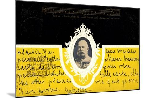 Präge Kaiser Wilhelm I Ludwig V Preußen, Haydn Lied--Mounted Giclee Print