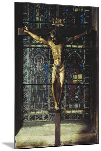 Italy, Florence, Church of Santa Croce, Crucifix, 1406-1408--Mounted Giclee Print