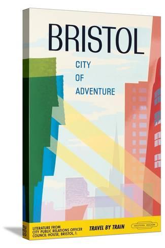 Bristol, City of Adventure, 1961--Stretched Canvas Print