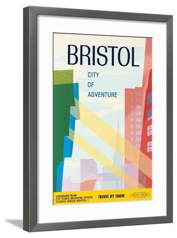 Bristol, City of Adventure, 1961--Framed Art Print
