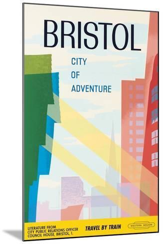 Bristol, City of Adventure, 1961--Mounted Giclee Print