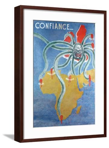 Confiance--Framed Art Print
