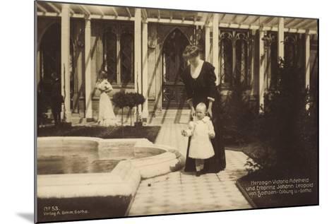 Herzogin Victoria Adelheid, Sachsen Coburg Gotha--Mounted Giclee Print