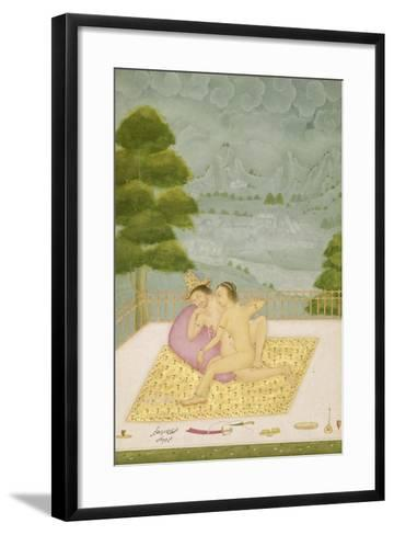 The Private Pleasure of the Portuguese Commander-In-Chief by Dharamdas--Framed Art Print