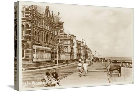 The Promenade, Deal--Stretched Canvas Print