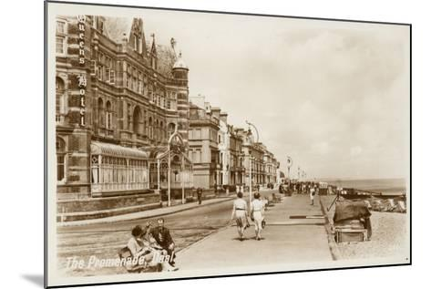 The Promenade, Deal--Mounted Photographic Print