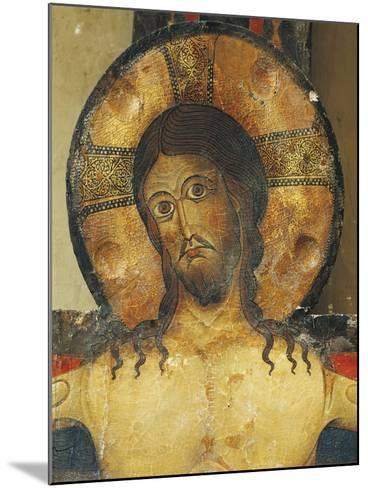 Christ's Face, Detail from Crucifix, 1187-Alberto Sotio-Mounted Giclee Print