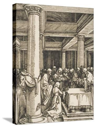 The Presentation of Christ in the Temple-Albrecht D?rer-Stretched Canvas Print
