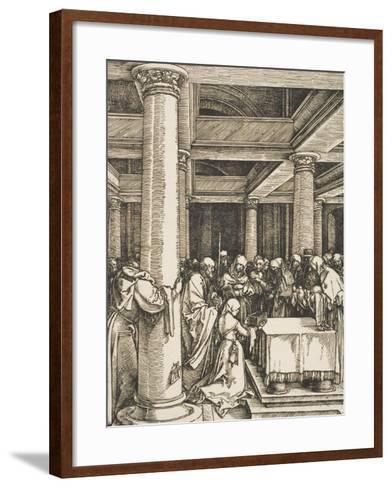 The Presentation of Christ in the Temple-Albrecht D?rer-Framed Art Print