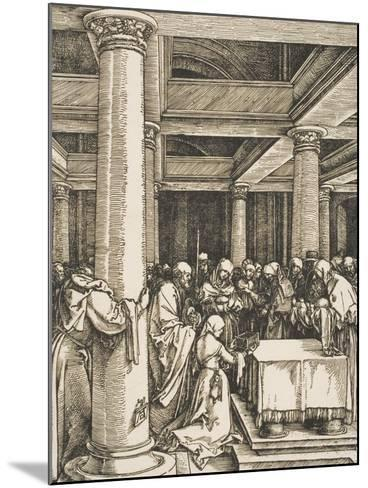 The Presentation of Christ in the Temple-Albrecht D?rer-Mounted Giclee Print