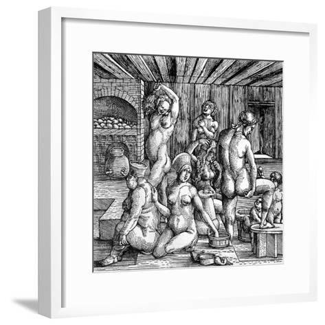 The Women's Bath-Albrecht D?rer-Framed Art Print