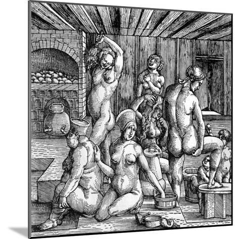 The Women's Bath-Albrecht D?rer-Mounted Giclee Print