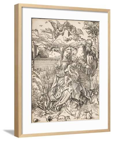 Virgin and Child with St. Joseph-Albrecht D?rer-Framed Art Print