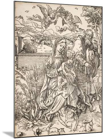 Virgin and Child with St. Joseph-Albrecht D?rer-Mounted Giclee Print