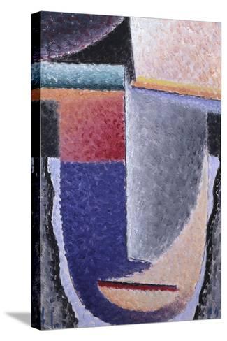 Big Head-Alexej Von Jawlensky-Stretched Canvas Print