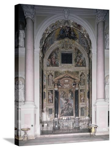 Chapel of Guardian with 1629 Frescoes-Antonio D'Enrico-Stretched Canvas Print