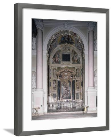 Chapel of Guardian with 1629 Frescoes-Antonio D'Enrico-Framed Art Print