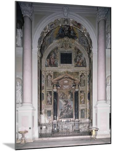 Chapel of Guardian with 1629 Frescoes-Antonio D'Enrico-Mounted Giclee Print