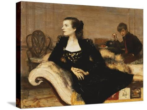 Camilla and Mark Sykes, 1947-Anthony Devas-Stretched Canvas Print