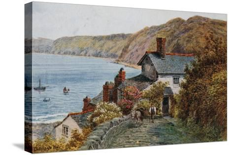 Clovelly Bay-Alfred Robert Quinton-Stretched Canvas Print