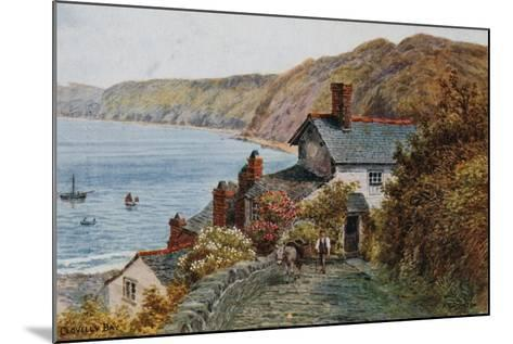 Clovelly Bay-Alfred Robert Quinton-Mounted Giclee Print
