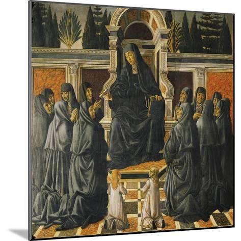 Saint Monica-Andrea del Verrocchio-Mounted Giclee Print