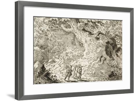 The Thick Forest-Allart van Everdingen-Framed Art Print