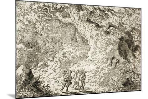 The Thick Forest-Allart van Everdingen-Mounted Giclee Print