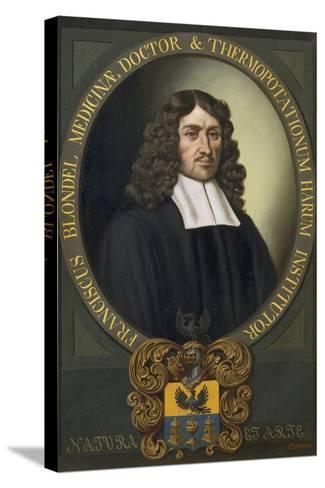 Portrait of Franziskus Blondel-Alexander Stix-Stretched Canvas Print