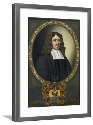 Portrait of Franziskus Blondel-Alexander Stix-Framed Art Print