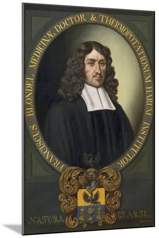 Portrait of Franziskus Blondel-Alexander Stix-Mounted Giclee Print