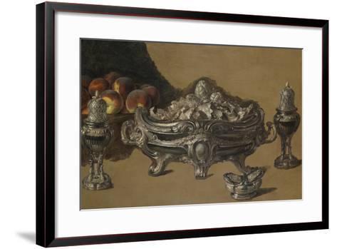The Silver Bowl-Alexandre-Francois Desportes-Framed Art Print