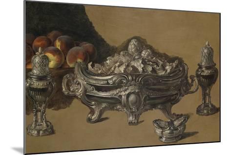 The Silver Bowl-Alexandre-Francois Desportes-Mounted Giclee Print